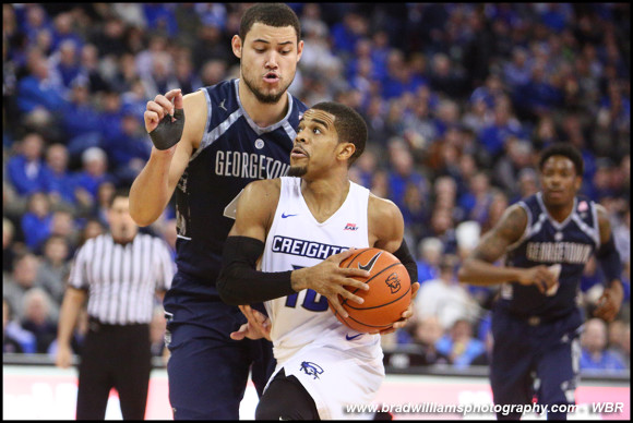 Photo Gallery: Creighton Men's Basketball Pull Away From Georgetown in Win