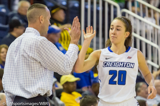Creighton Career Was a Dream Come True For Senior Tessa Leytem