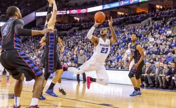 Photo Gallery: Creighton Men's Basketball Rebounds Over DePaul