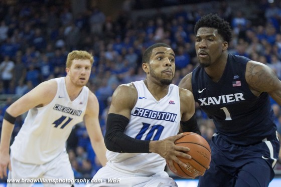 Watson's Career Night Leads Creighton to Victory Over Fifth-Ranked Xavier