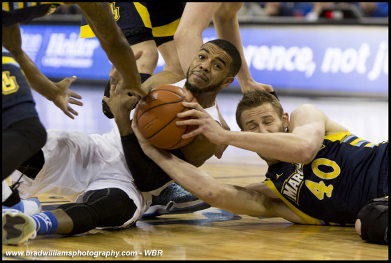 Photo Gallery: Creighton Men's Basketball Lose at Home to Marquette
