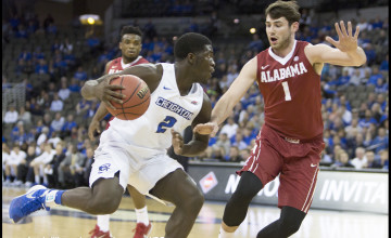 Photo Gallery: Creighton Men's Basketball Defeats Alabama in NIT First Round