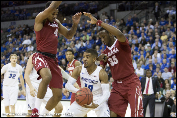 Creighton begins road back to The Garden by rolling the Crimson Tide