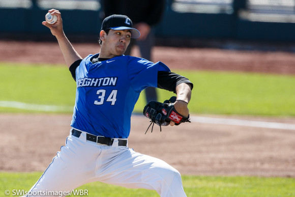Rogalla, Bullpen Carry Creighton to Series-Clinching Win Over Jacksonville