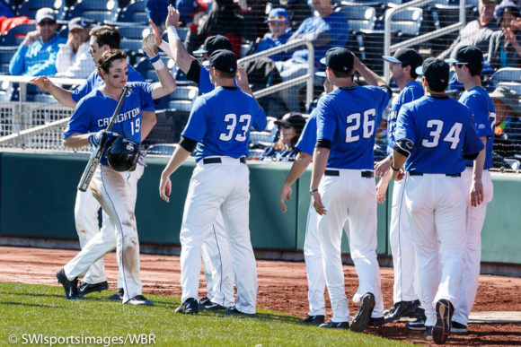 Creighton shuts out Georgetown to clinch another series win