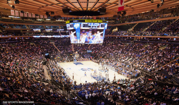 White blue review the online home for creighton bluejays fans Madison square garden basketball