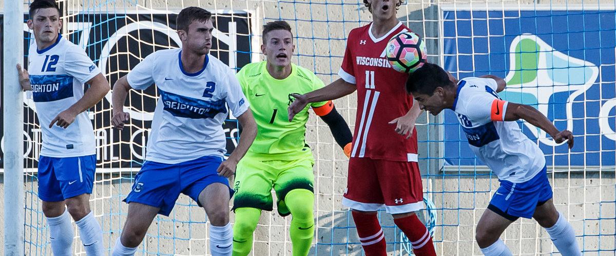 Photo Gallery:  Creighton Men's Soccer Falls 3-1 to Wisconsin