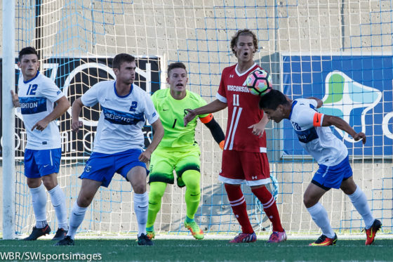Photo Gallery:  Creighton Men's Soccer Falls 3-1 to Wisconsin