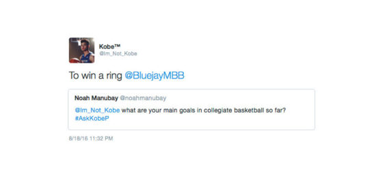 Kobe Paras Answers Questions on Twitter