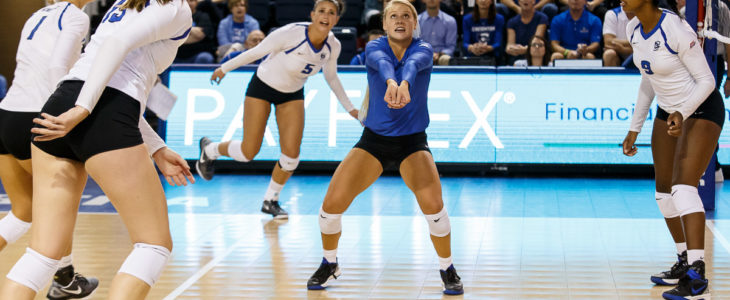 Creighton Volleyball Closes Bluejay Invitational With a Dominant Showing Against Chattanooga