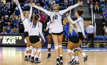 No. 21 Creighton Survives Five-Set Classic With Northern Iowa to Advance in NCAA Tournament