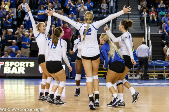 Creighton Volleyball Sweeps TCU for Much Needed Win