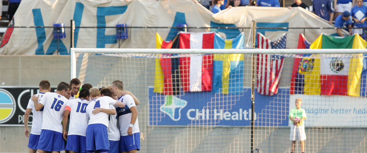 No. 14 Creighton Men's Soccer Blitzes Seton Hall on Homecoming For 4-1 Win