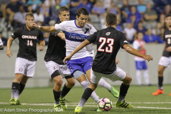Photo Gallery: Creighton and UNO Battle to 1-1 Draw