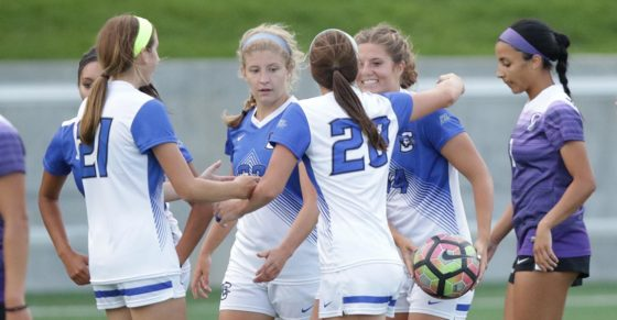 Jakubowski's First Career Goal Earns Bluejays a Road Win Over South Dakota State