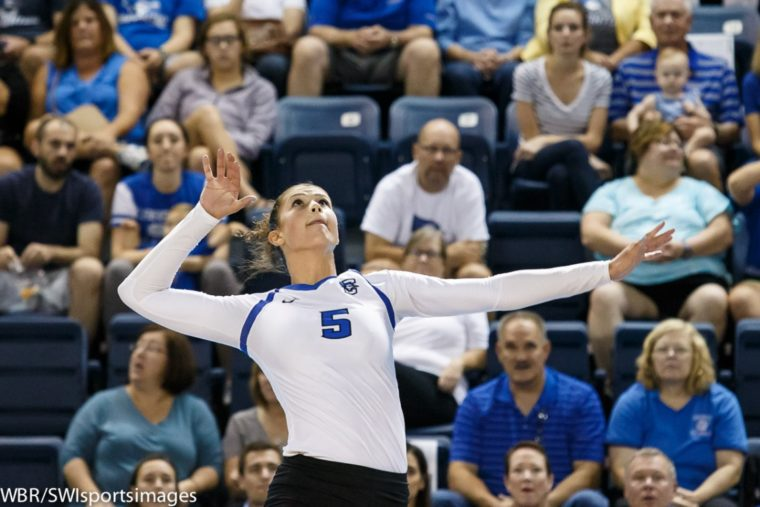 Balanced distribution carries ninth-ranked Creighton to season-opening sweep of Saint Mary's