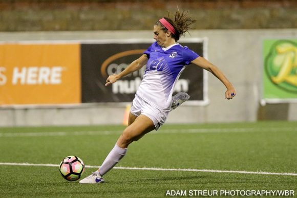 Creighton Women's Soccer Grinds Out a Rain-Soaked Win to Complete South Dakota Sweep