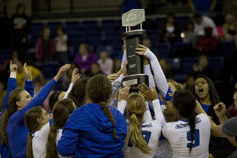 Another Sweep, Another Big East Regular Season Title for Creighton Volleyball