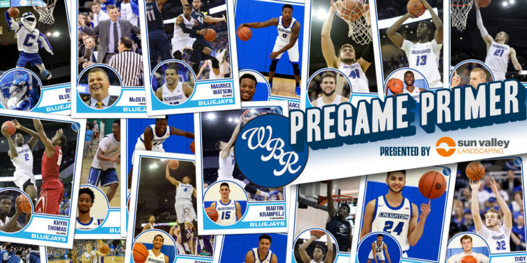 Pregame Primer: #20 Creighton at Seton Hall