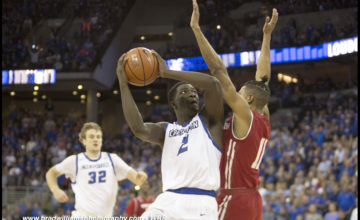 Photo Gallery:  #22 Creighton Knocks Off #9 Wisconsin