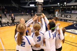 The Bluejays await their opponent in the NCAA Tournament announced on Sunday (Photo courtesy of Justin Casterline)
