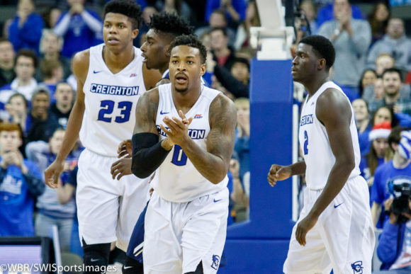 Photo Gallery: #10 Creighton Men's Basketball Survives Against Oral Roberts