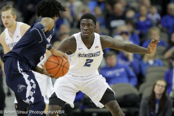 Photo Gallery: #10 Creighton Men's Basketball Chops Down Longwood