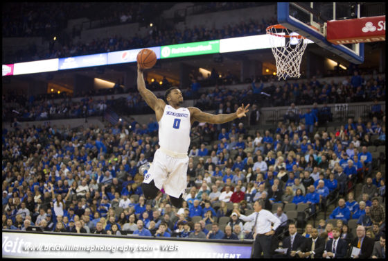Photo Gallery:  #10 Creighton Men's Basketball Holds Off Akron