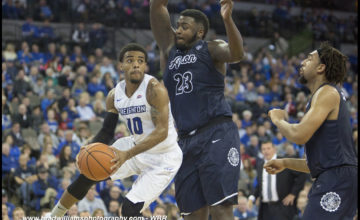 Early Second Half Run Helps No. 10 Creighton Hold Off Patient Akron Squad