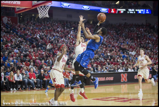 Photo Gallery: #10 Creighton Men's Basketball Defeats Nebraska for 6th Straight in Series