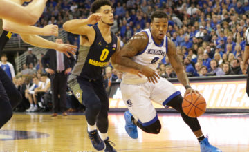 Photo Gallery: #7 Creighton Men's Basketball Falls to Marquette