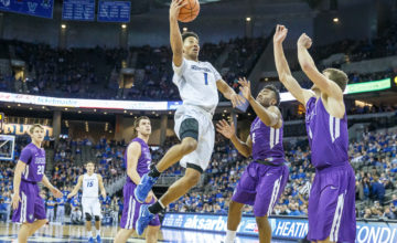 Photo Gallery: #8 Creighton Flies Over Truman State