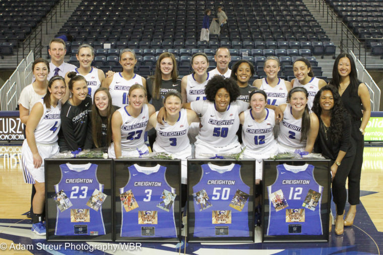 Photo Gallery: Creighton Women Pick Up 67-60 Win on Senior Day