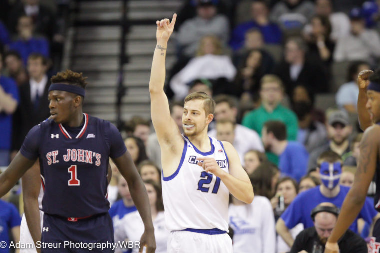 Photo Gallery: Creighton Men's Basketball Goes Out Winners on Senior Night vs. St. John's