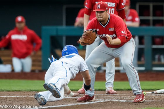 Photo Gallery:  Creighton Baseball Takes Game 2 Against Huskers