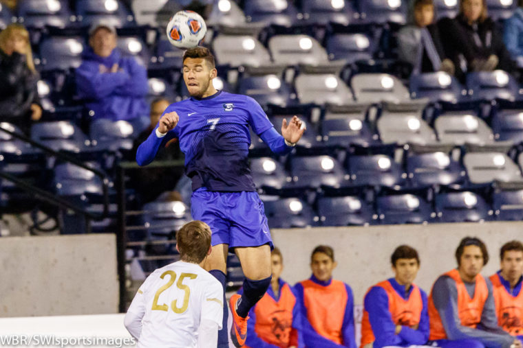 Lopez-Espin's Header With 9 seconds Left Gives 14th-ranked Creighton a 2-1 Win Over SIU Edwardsville