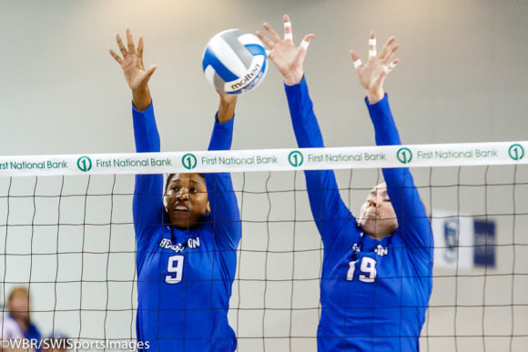 Photo Gallery: Creighton Volleyball at Bluejay Invitational