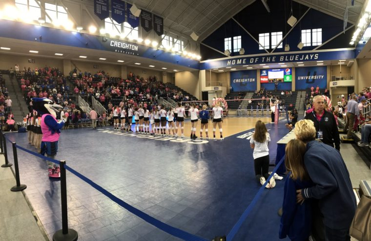 In an emotional tug-of-war, Creighton found their edge in another sweep of Seton Hall