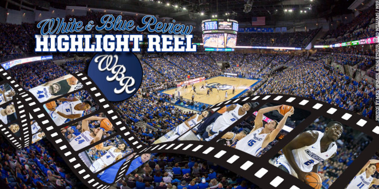 Highlight Reel: Jacob Epperson Debuts in Creighton's 85-77 Win over Georgetown