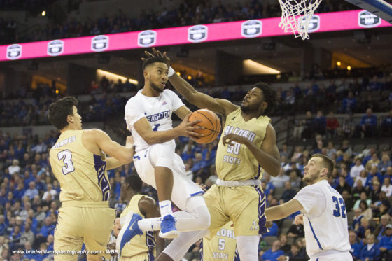 Photo Gallery: Creighton Men's Basketball Rolls Over Alcorn State