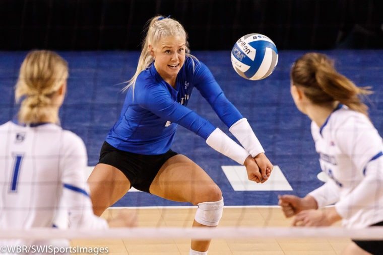 Photo Gallery: Creighton Volleyball 2017 Season Ends Vs. Michigan State
