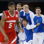 Creighton Bench While Watson Watches On