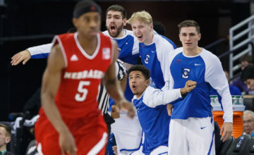 Photo Gallery: Creighton Paints Nebraska Blue (Again) With 75-65 Comeback Win