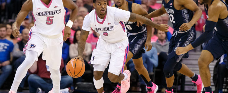 Photo Gallery: Creighton Takes Down Georgetown in Annual PinkOut Game
