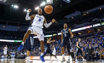 Photo Gallery: Creighton Men's Basketball With Upset Over #3 Villanova in OT