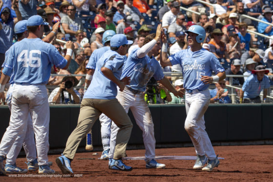 North Carolina Catches Beavers On Off Day, Win 8-6 In Inaugural 2018 CWS Game
