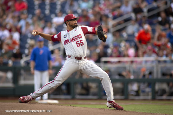 2018 CWS Photo Gallery:  Defending CWS Champs Fall