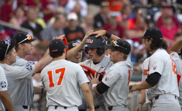 2018 CWS Photo Gallery: Oregon State Comes Back To Win Game 2