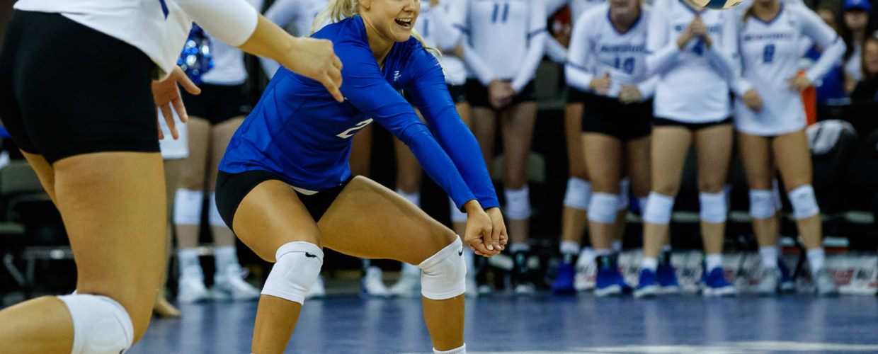 Brand New Court, Same Old Results as No. 10 Creighton Sweeps DePaul at Home to Open Big East Play