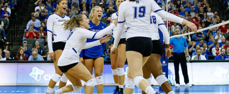 Annika Welty's Impact at the Net Helped Creighton Overcome a Rocky Start to Beat Wichita State